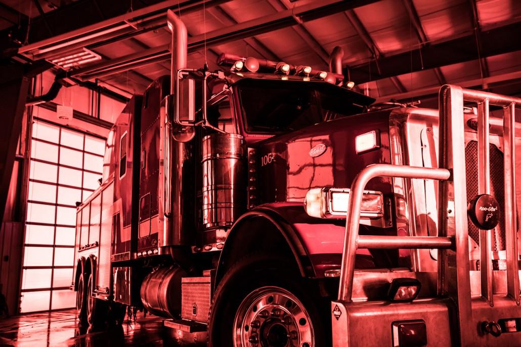 Fire Truck Bravo Target Safety